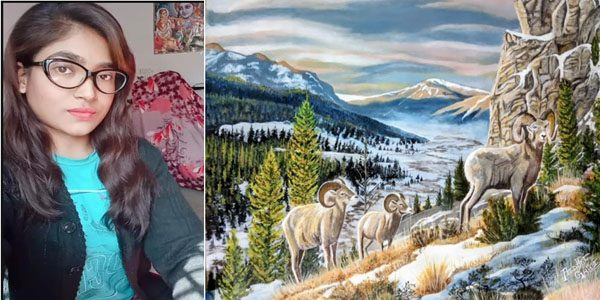 Here is How This Artist,  Popularizing By Her Paintings - Anushri Gupta