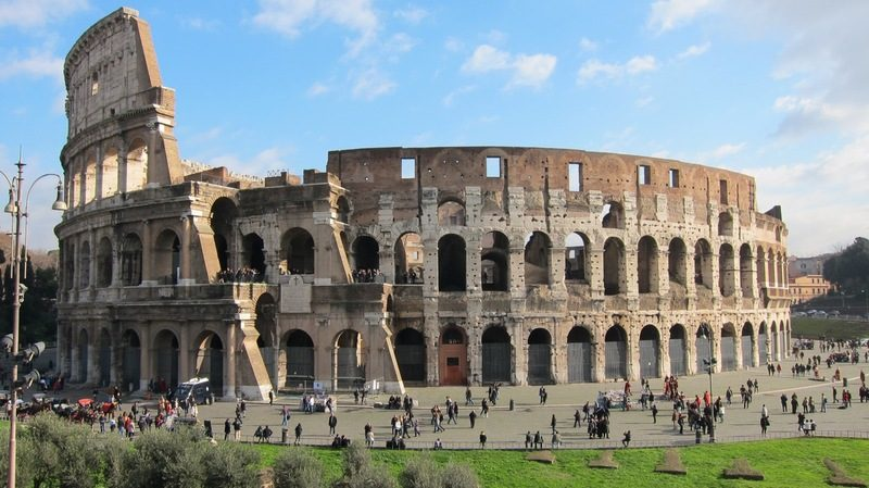 Image result for exterior of colosseum