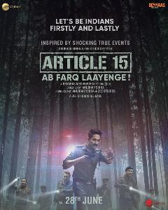 Article15 Movie Banner