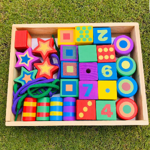 Multi-color Beading Toy